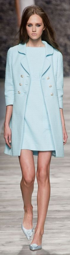 ♔ Blugirl at MFW Spring 2014