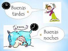 español como idioma saludos