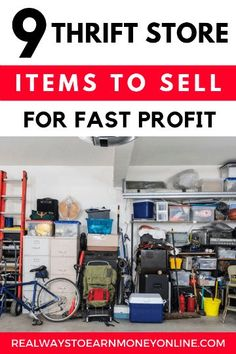 Sell thrift store items for fast profit. You can sell thrift store items online for a quick profit. In this post, we're sharing with you the top items to look for to get the most bang for your few bucks. Spray Paint Projects, Diy Spray Paint, Diy Projects, Project Ideas, Sell Diy, Crafts To Sell, Diy Crafts, Selling On Ebay, Selling Online
