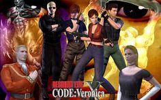 Resident Evil code veronica X é uma versão melhorada do jogo lançado originalmente para o Dreamcast, é o quarto jogo na cronologia principal da série Resident Evil.É dividido em duas partes, a primeira vivida por Claire Redfield tentando escapar de uma ilha infestado com o T-virus na qual foi pres