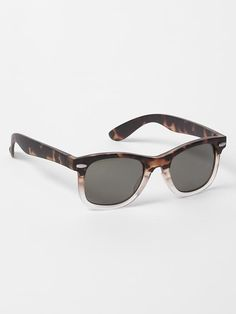 Tortoise ombre retro sunglasses Product Image