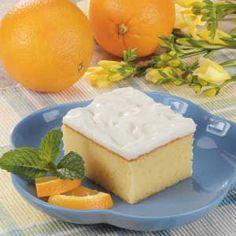 Florida Orange Cake Recipe.