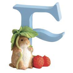 """F"" - Timmy Willie Letter Figurine"