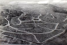 Vintage Johnstown Grandview from the air