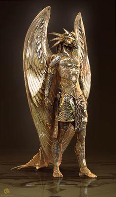 ArtStation - Gods Of Egypt - Horus, Jared Krichevsky