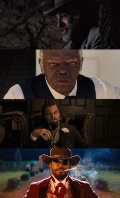 Django Unchained, 2012 (dir. Quentin Tarantino) By Fuoritempo