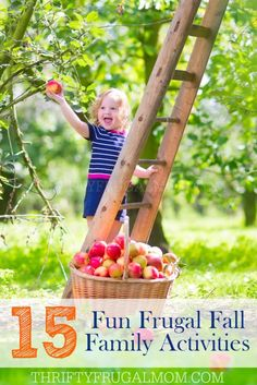 Make memories with your family and celebrate fall with these fun frugal activities! BONUS: There's even a cute free printable fall activities checklist! (Top View Fun)