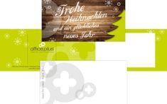 Office Plus Freiburg: Weihnachtskarte für Kunden 2017