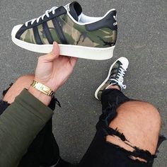 - shoes for men - chaussures pour homme - sneakers - boots - We reveal the news in sneakers for spring summer 2017 Adidas Women Shoes - Adidas Shoes Women, Nike Women, Adidas Sneakers, Shoes Sneakers, Adidas Camo Shoes, Top Shoes, Sneaker Boots, Men Fashion, Fashion Shoes