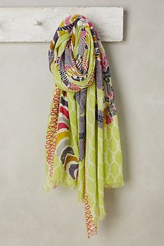 Kampos Scarf #anthropologie