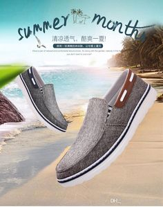 5d08859c2 2016 Spring And Summer To Help Low Canvas Shoes Peas Men'S Fashion Casual  Men'S Shoes A Pedal Set Foot Lazy Shoes Silver Shoes Casual Shoes From  Chenxixiang ...