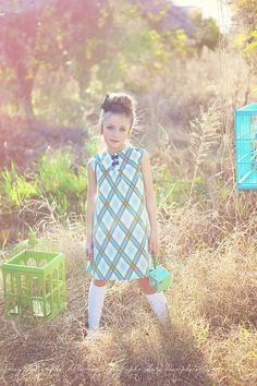 Retro Simply Sweet Dress.... I likey...alot! girls would look so good in this color.