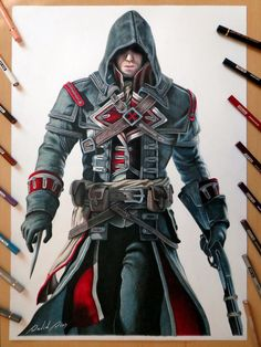 Shay Cormac - Assassin's Creed Rogue by Daviddiaspr.deviantart.com on @DeviantArt