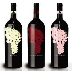 Anthony's Wine - JustineMadeThis. Great #packaging for all our #wine loving peeps PD
