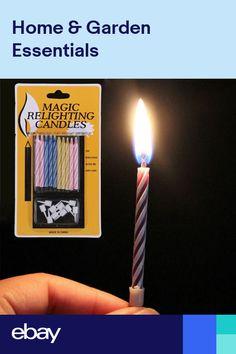 10 Magic Candles Birthday Relighting Free P