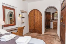 Kalderimi is situated on Patmos island at an exceptional location. It is built only a few meters from the port, on a cobblestone street which leading up to Chora of Patmos.