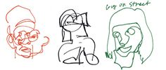 Image result for blind contour drawing