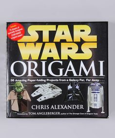 Take a look at this Star Wars Origami Paperback by Workman on #zulily today!
