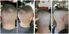 high and tight shown from 4 different angles