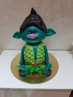 Branch trolls cake - Cake by DajanaHu