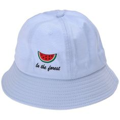 ZLYC Women Cute Watermelon Embroidered Bucket Hat Cap Sun Visor for... ( 15 e24d2ada809a