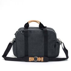 QWSTION Overnighter - If the Weekender is the cappuccino, the Overnighter is the espresso; it has the same base, but it's more compact and boiled down to the essence. The Overnighter offers a classic look in a compact format with highly contemporary style, while offering the same versatile shoulder strap with the One-for-Two-System allowing this bag to convert to a backpack effortlessly.