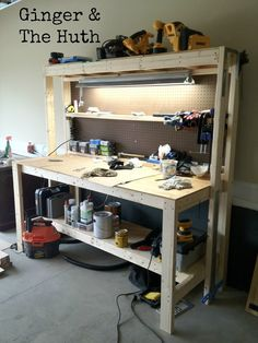 Cheap workbench with plans