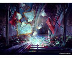 ArtStation - The Void - Dishonored, Veronique Meignaud