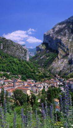 Village de Pont-en-Royans, Isère, France
