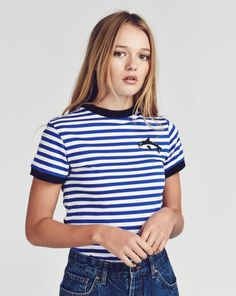 ~ Lazy Oaf Killer Whale T-shirt ~ In association with WDC (that's Whale & Dolphin Conservation to us land people) we're donating 10% of all sales from our orca designs to making the ocean a safer place!