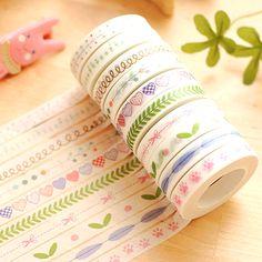 Washi Tape, cute stationery | haroro.storenvy.com