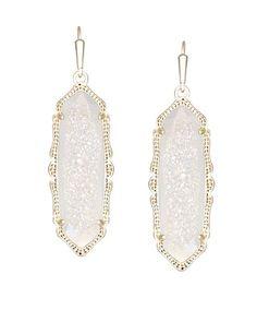 Fran Earrings in Iridescent Drusy - Kendra Scott Jewelry.