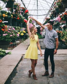 Such a unique and simply wonderful idea for engagement photos. Who would have thought! Love her dress!
