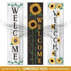 Welcome Signs Front Door, Wooden Welcome Signs, Front Porch Signs, Front Door Decor, Wooden Signs, Wooden Boards, Rustic Signs, Christmas Porch, Christmas Svg