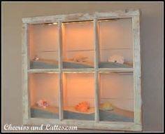 sea shell window frame