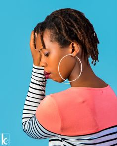 African Girl, Hoop Earrings, Photoshoot, Photography, Beauty, Jewelry, Fashion, Moda, Photograph