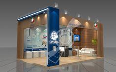 EXCLUSIVE DESIGN: PROJETOS MONTADOS Exhibition Stand Design, Stage Design, Trade Show, Kiosk, Exhibitions, Modern, Bathrooms, Events, Furniture