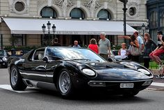 Lamborghini Miura SV: this is the last Miura produced, January 15, 1973 -- Production #762, Chassis #5110, Engine #30756
