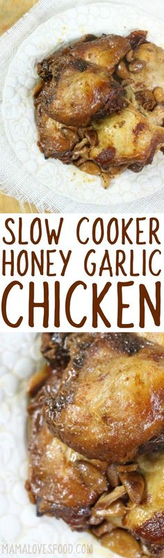 husband loved this one! Slow Cooker Honey Garlic Chicken Recipe - How to Make. husband loved this one! Slow Cooker Honey Garlic Chicken Recipe - How to Make Honey Garlic Crockpot Chicken Crockpot Dishes, Crock Pot Slow Cooker, Crock Pot Cooking, Slow Cooker Chicken, Easy Cooking, Slow Cooker Recipes, Paleo Recipes, Asian Recipes, Crockpot Recipes