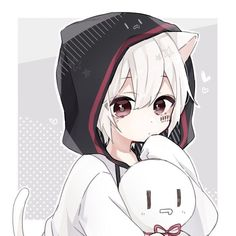 Pin by chaki on ☁ ️cuties in 2019 garotos anime, garotas fofa Anime Neko, Kawaii Anime Girl, Neko Kawaii, Cute Anime Chibi, Manga Anime, Sad Anime, Neko Boy, Chibi Boy, Anime Boys