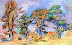 Paysage à Mirmande par André Lhote