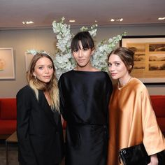 New Instagram spottings of Mary-Kate and Ashley Olsen (Part 2) #style #fashion #olsentwins