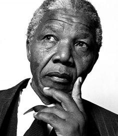 Young Nelson Mandela.