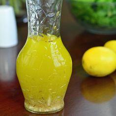 lemon vinaigrette salad dressing recipe
