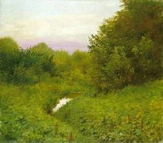 Szinyei-Merse Pal: Csend Subic, Trees To Plant, Planting Flowers, Modern Art, Country Roads, Fine Art, Mountains, Landscape, Places