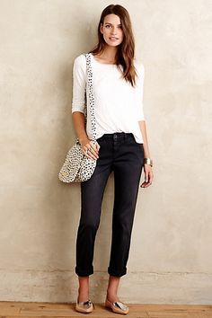 Love these pants!  Pilcro Hyphen Chinos #anthropologie