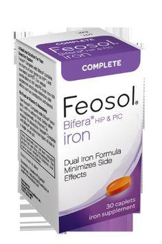 Feosol Complete Vitamins, 30 Count