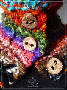 Seven Rainbows Cowl by Cathliin - pattern {www.prawelewe.pl}