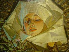 Art Et Illustration, American Illustration, Jc Leyendecker, Classical Art, Portrait Art, Aesthetic Art, Oeuvre D'art, Les Oeuvres, Art Inspo