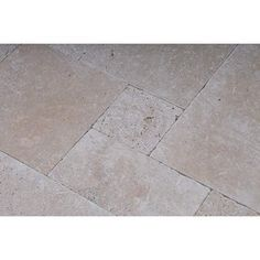 Carrelage int rieur antique en travertin beige multiformats sols pinter - Leroy merlin carrelage sol interieur ...